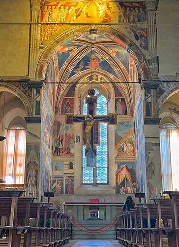 Affreschi di Piero della Francesca Arezzo