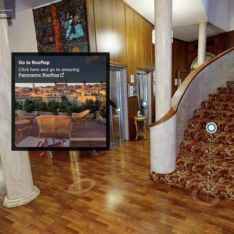 Virtual tour hotel arezzo