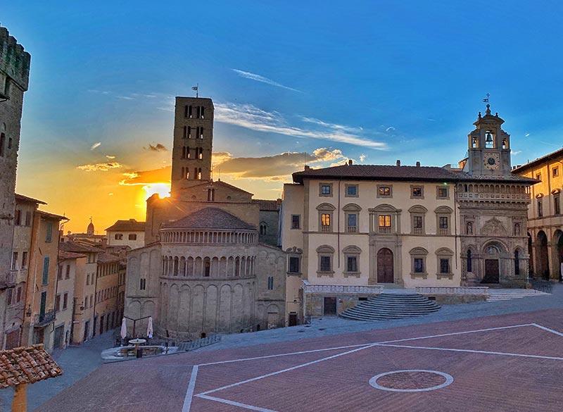 Hotel vicino piazza Grande Arezzo