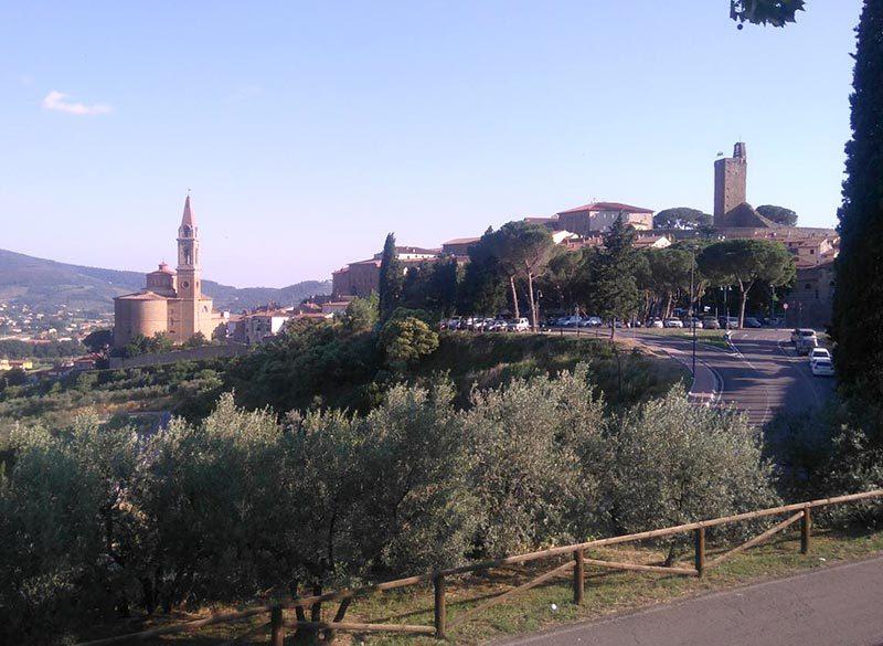 Percorso Arezzo Castiglion Fiorentino bici